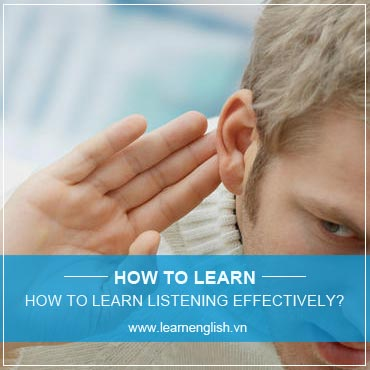 How to learn English listening comprehension effectively