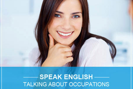 talking about occupations in English