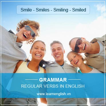 Understand Regular Verbs in English