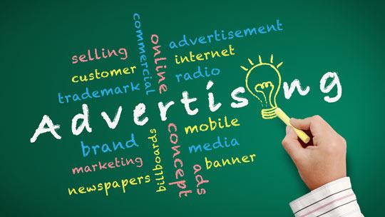 English Vocabulary advertising