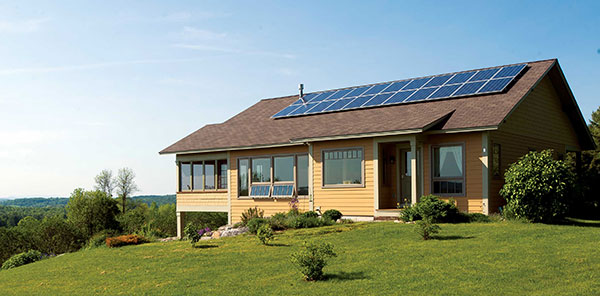 Yellow-And-Brown-Solar-House
