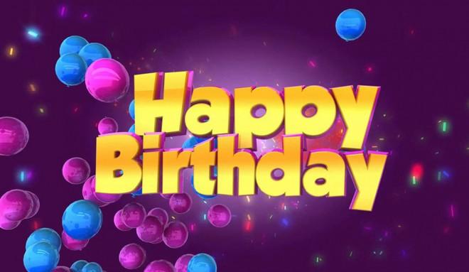 Happy birthday speaking topic