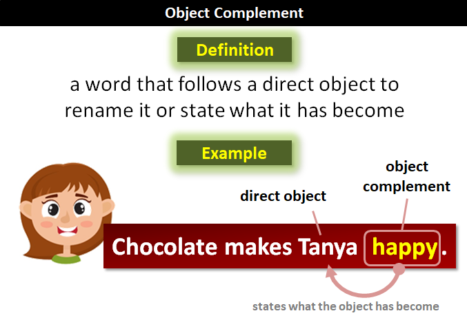 An object complement